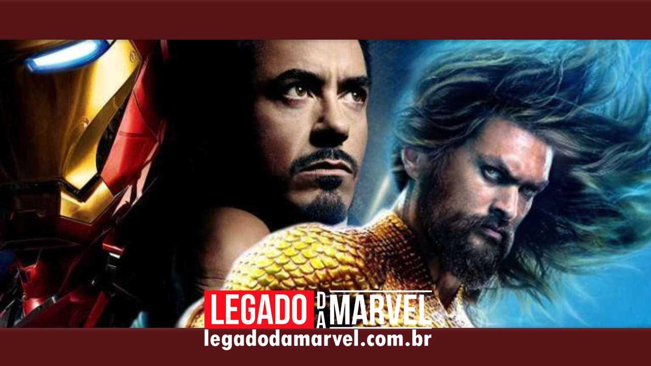 Jason Momoa, o Aquaman, elogia a importância do Homem de Ferro!