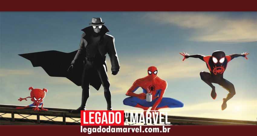 NÓS VIMOS mais de 30 minutos de Homem-Aranha no Aranhaverso! Leia a descrição!