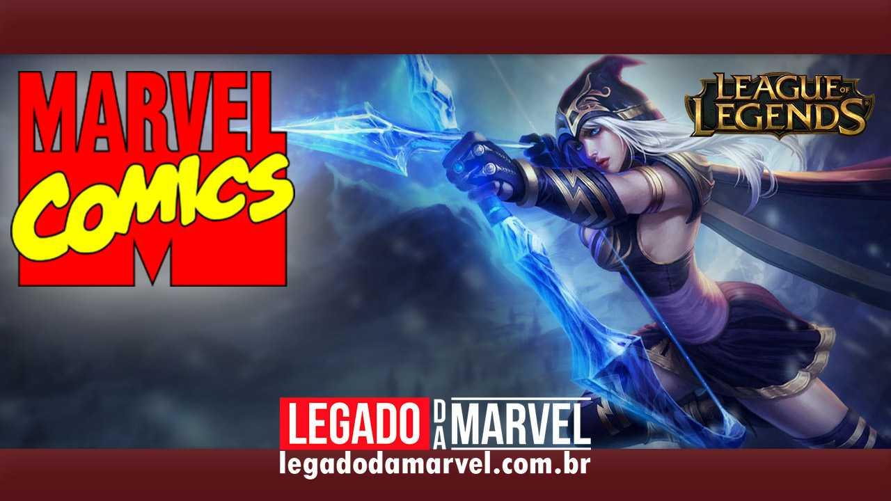 LOLzinho agora nos quadrinhos! Marvel lançará HQs de League of Legends!