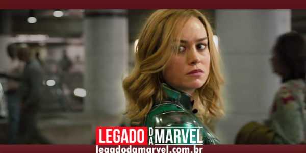 Para Brie Larson, Capitã Marvel é uma heroína imperfeita