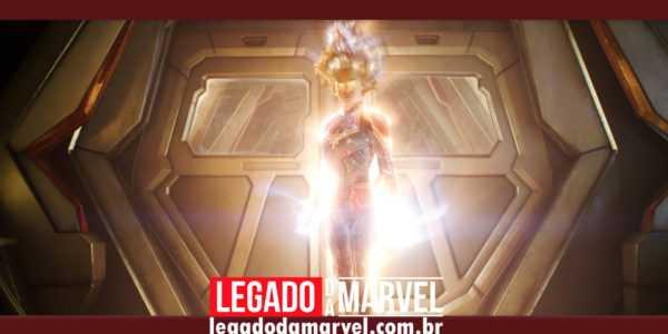 Comercial anuncia lançamento de vídeo especial de Capitã Marvel em janeiro!