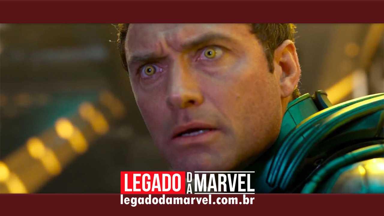 Nova imagem de Capitã Marvel CONFIRMA Jude Law como Mar-Vell!