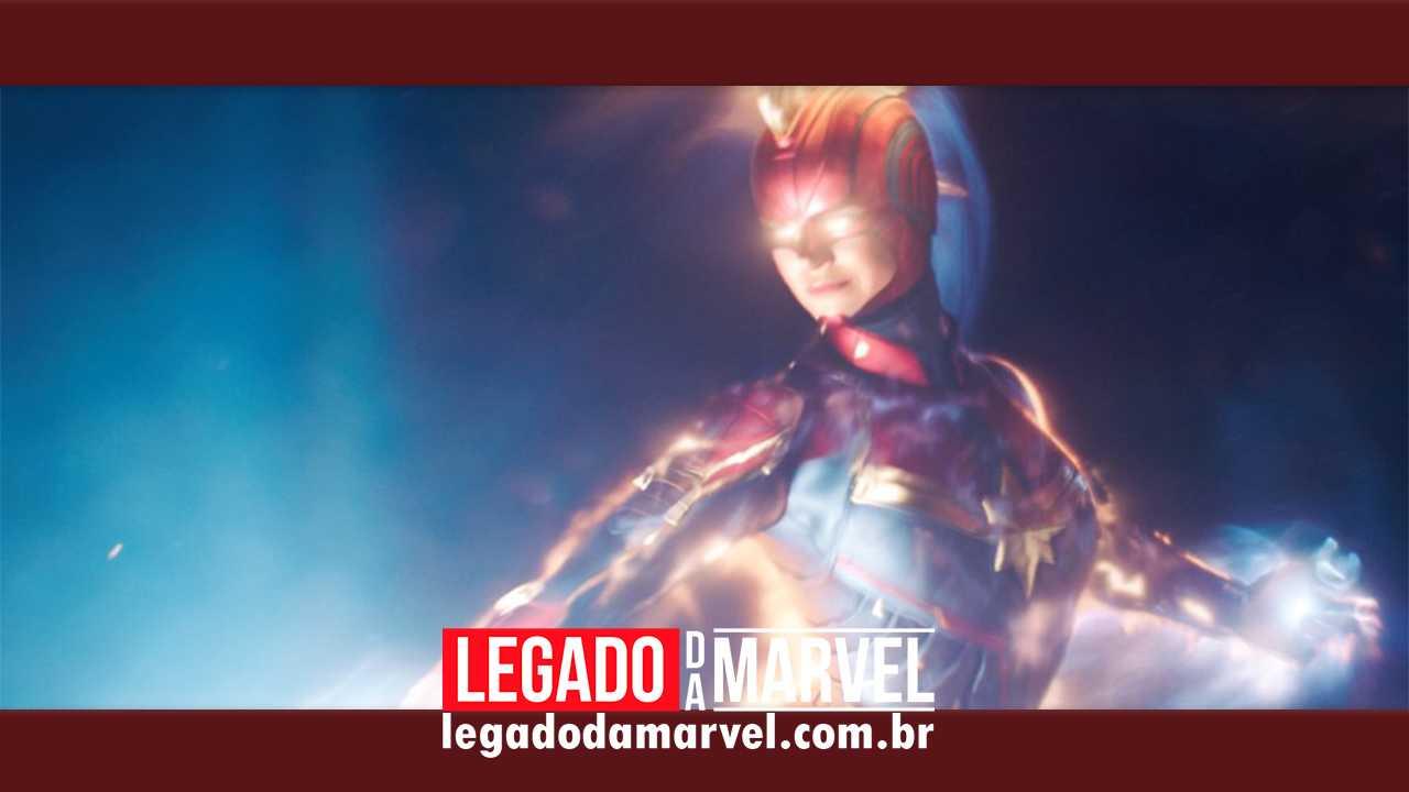 Marvel Studios divulga imagem inédita de Capitã Marvel!