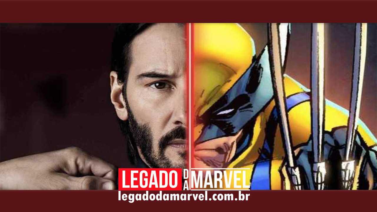 Imagem transforma o ator Keanu Reeves no Wolverine! Confira!