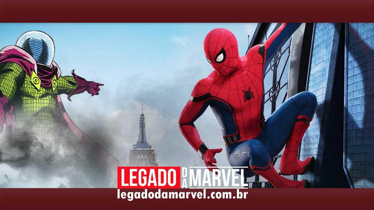 Homem-Aranha e Mistério serão parceiros em Longe de Casa!