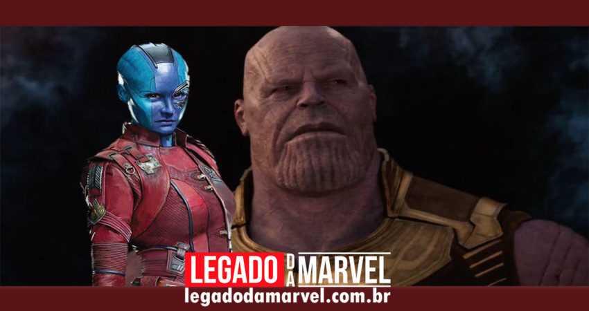 Atriz confirma confronto entre Nebula e Thanos em Vingadores: Ultimato!