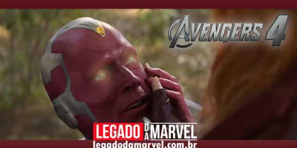 Diretores comentam possível retorno de Visão em Vingadores 4!