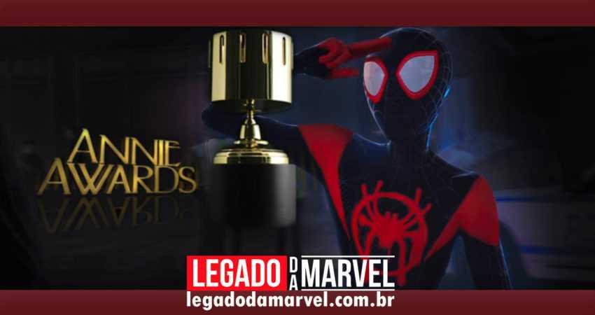 Homem-Aranha no Aranhaverso recebe várias indicações ao Annie Awards, o Oscar das animações