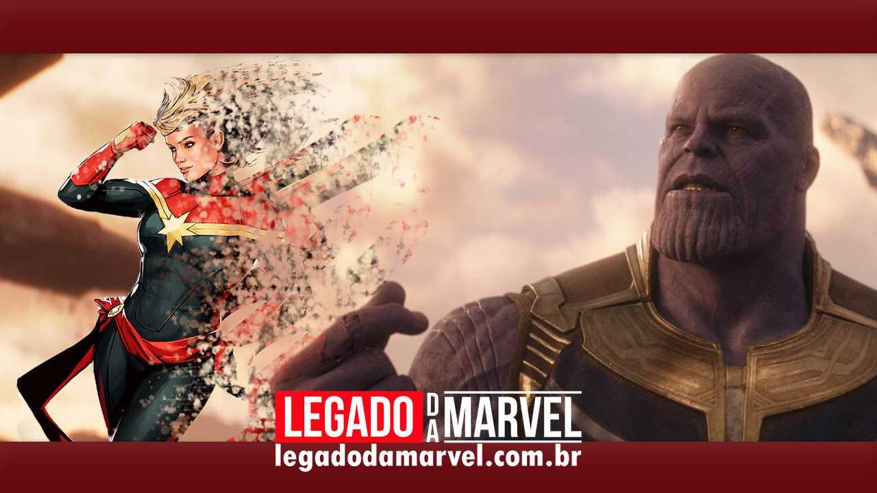 TEORIA: E se Capitã Marvel tiver virado pó junto com metade do universo?