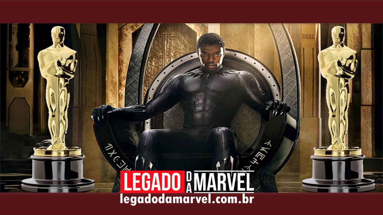 Marvel divulga vídeo inédito de Pantera Negra como campanha do Oscar!