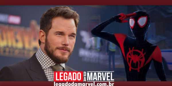 Segundo Chris Pratt, Homem-Aranha no Aranhaverso é uma verdadeira obra-prima