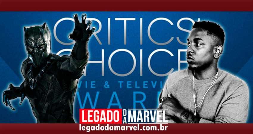VEM MAIS PRÊMIOS POR AÍ! Pantera Negra é indicado a 12 categorias no Critic's Choice Awards