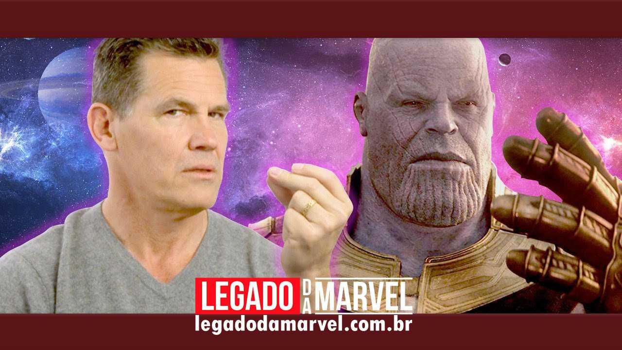 Josh Brolin ganha prêmio por sua atuação como Thanos em Guerra Infinita!