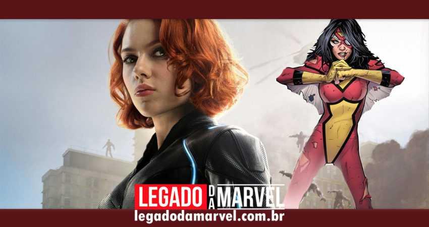Mulher-Aranha no filme da Viúva Negra? Marvel anunciará atriz em breve!