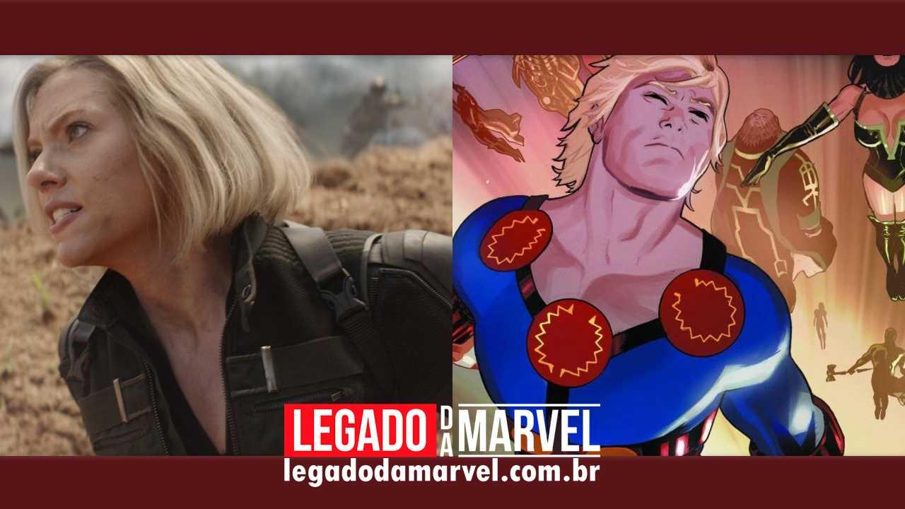 Viúva Negra ou Os Eternos? Filme da Marvel Studios recriará 1ª Guerra Mundial!