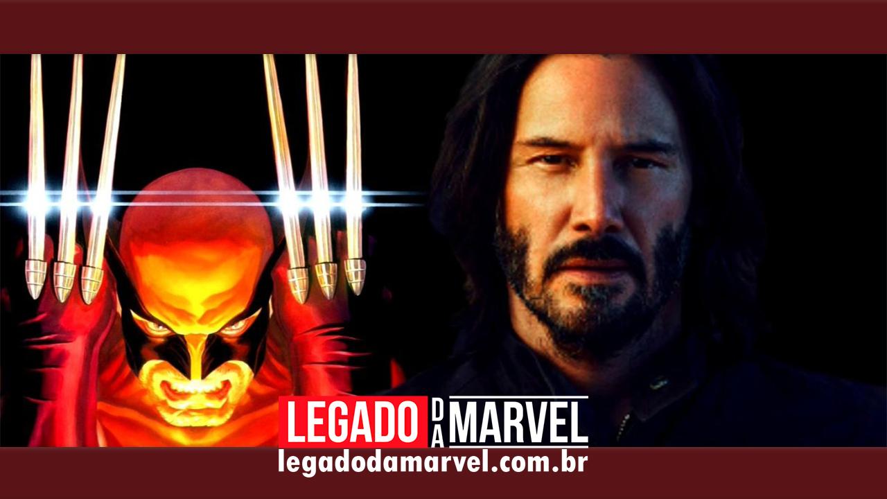 Keanu Reeves diz que gostaria de interpretar o Wolverine!