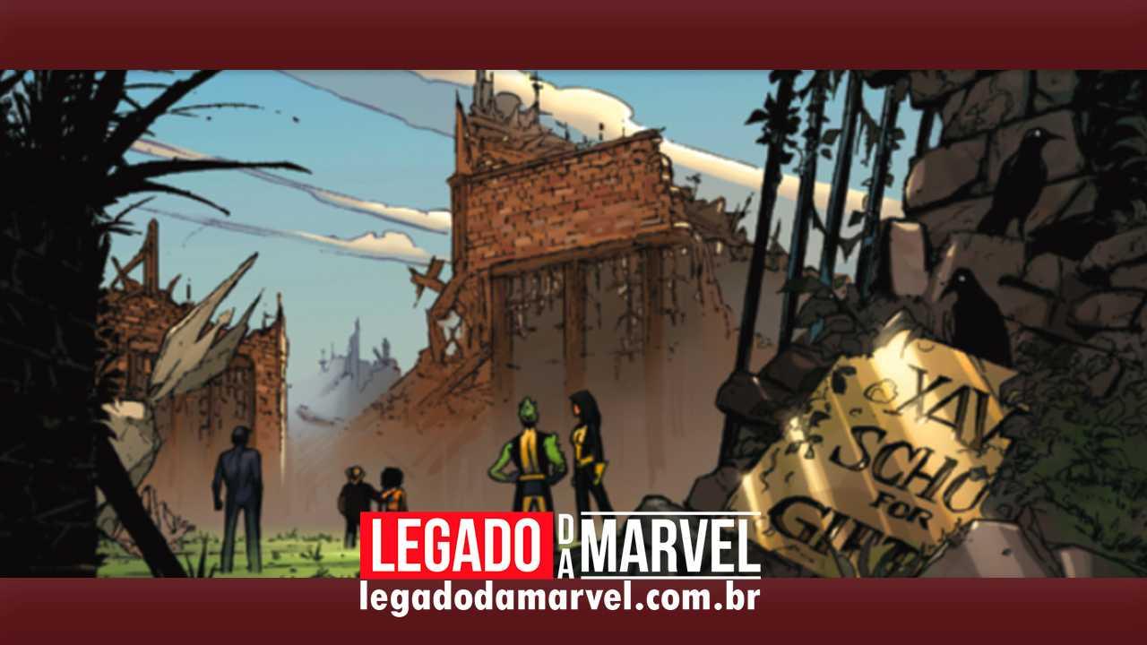 Mansão Xavier é destruída (mais uma vez) nos quadrinhos dos X-Men