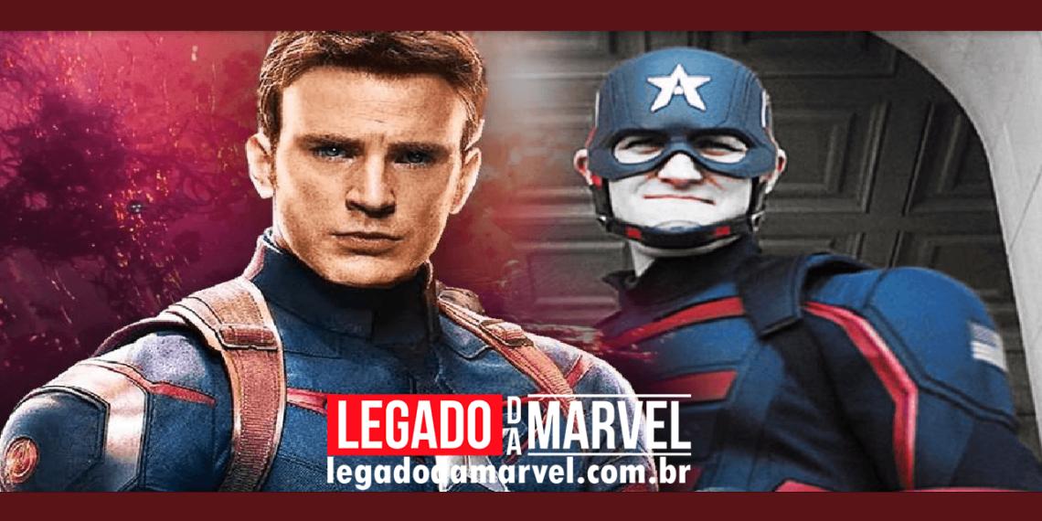 Qual a versão do Capitão América é definitiva no MCU, Rogers ou Walker legadodamarvel