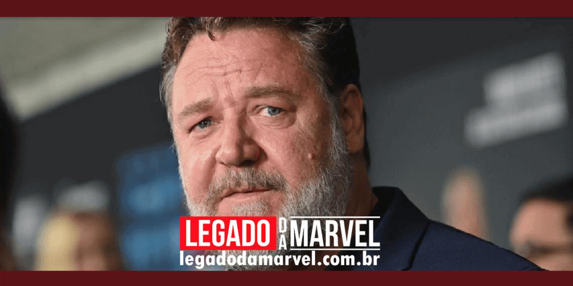 Quem Russell Crowe pode interpretar em Thor Amor e Trovão legadodamarvel