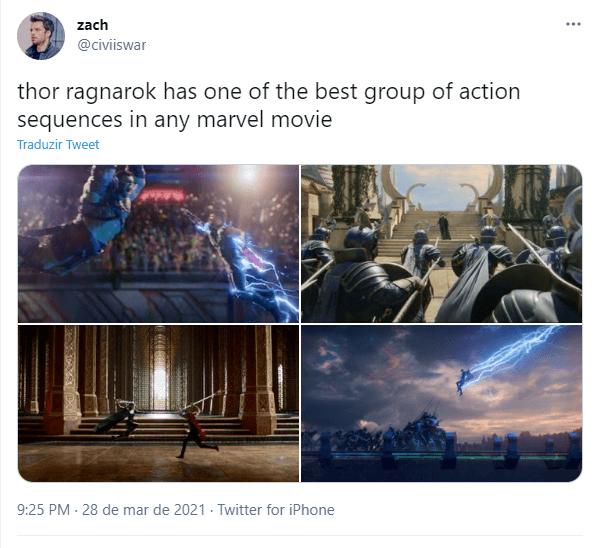 Para os fãs, Thor: Ragnarok é o melhor filme reescrito da Marvel legadodamarvel