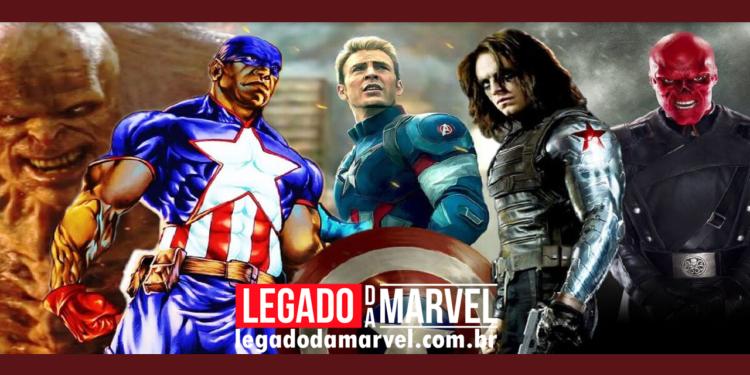 Quantos Super Soldados, igual ao Capitão América, existem no MCU legadodamarvel