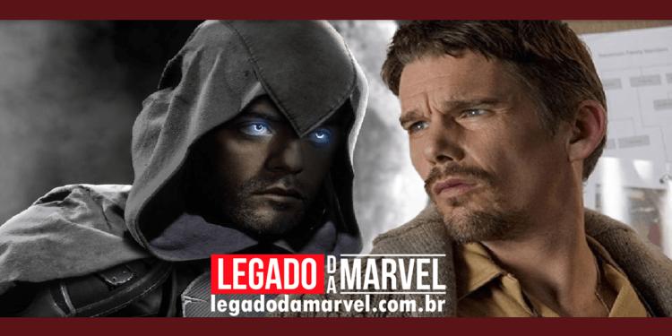 Cavaleiro da Lua Oscar Isaac e Ethan Hawke são visto em Budapeste legadodamarvel
