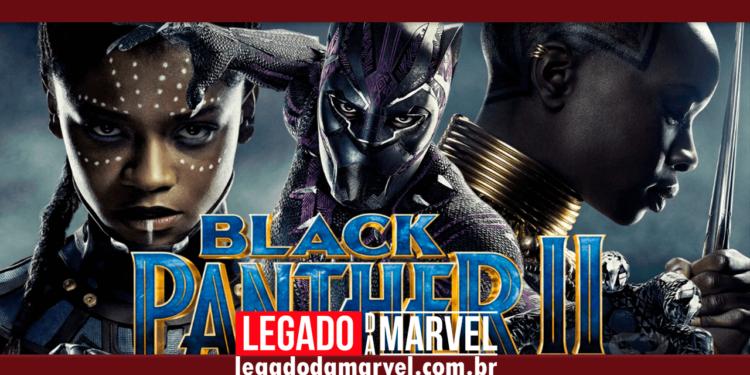 Vídeo do set de Pantera Negra 2 teria revelado um memorial para T'Challa legadodamarvel
