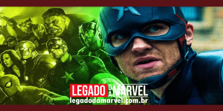 Novo Capitão América ameaça os planos dos Vingadores 5 legadodamarvel