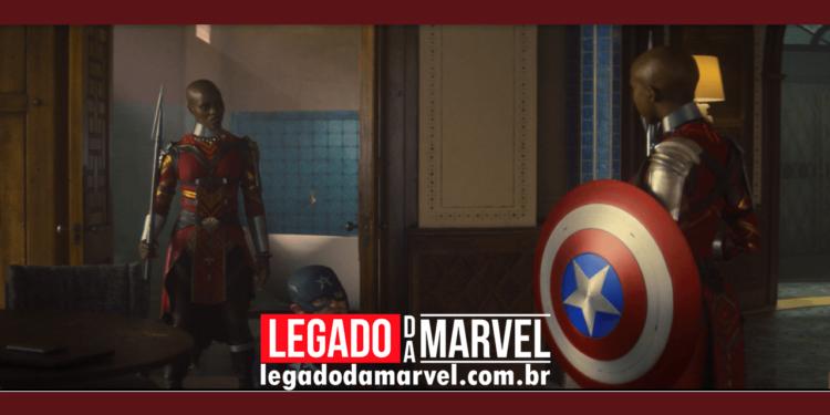 Por que Wakanda quis pegar o escudo do Capitão América legadodamarvel
