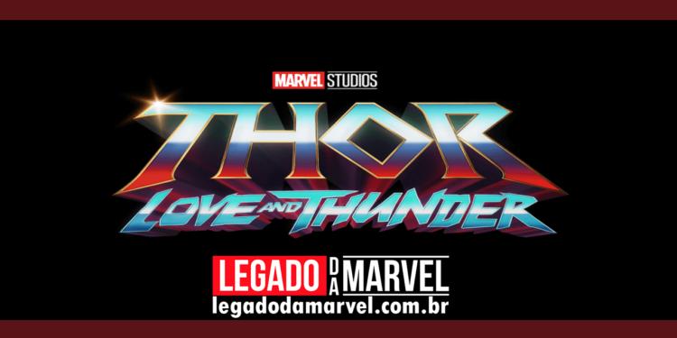 Roteirista de Thor Amor e Trovão revela o encerramento das filmagens legadodamarvel