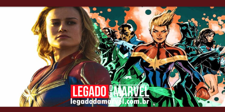 Capitã Marvel 2 Título The Marvels pode indicar uma nova equipe de super-heróis legadodamarvel