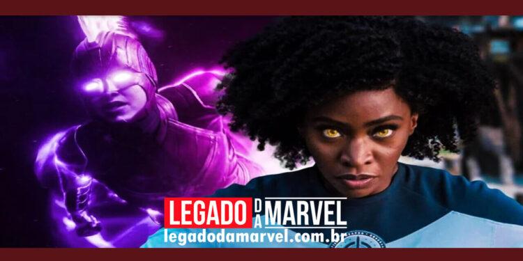 Capitã Marvel 2 Título The Marvels sugere confronto entre Monica e Carol legadodamarvel