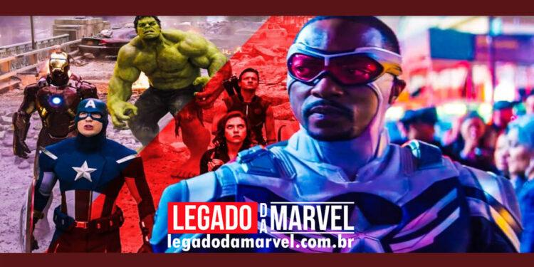 Capitão América 4 não pode ser um filme sobre os Vingadores legadodamarvel