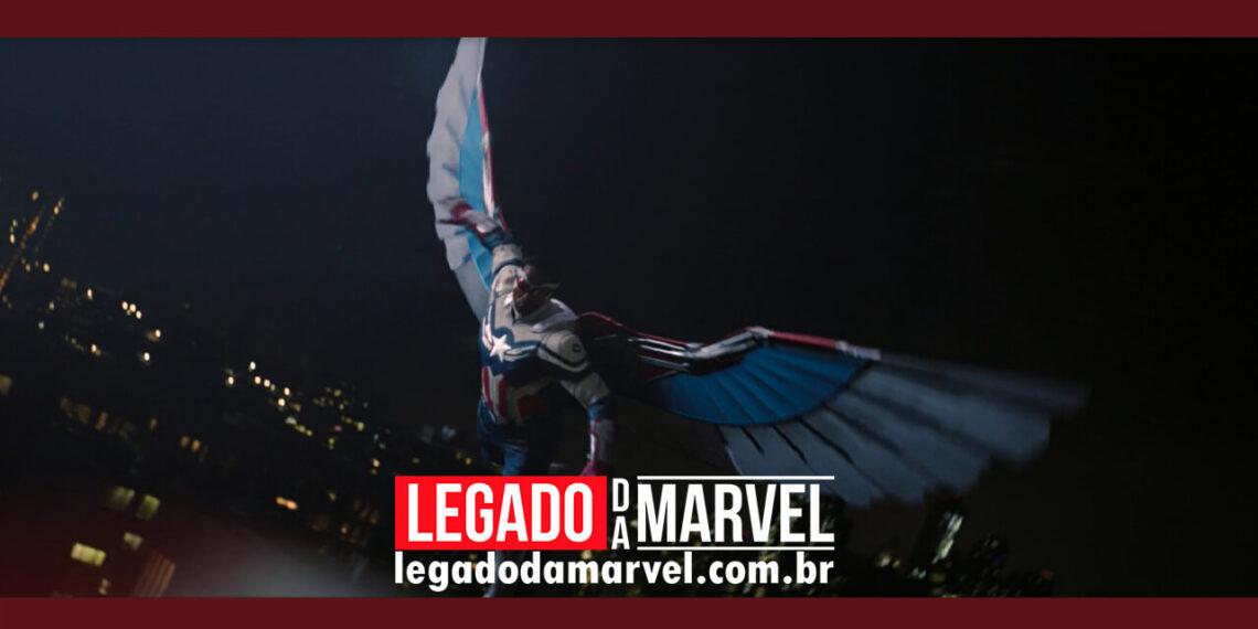 Como são poderosas as novas asas do Capitão América legadodamarvel
