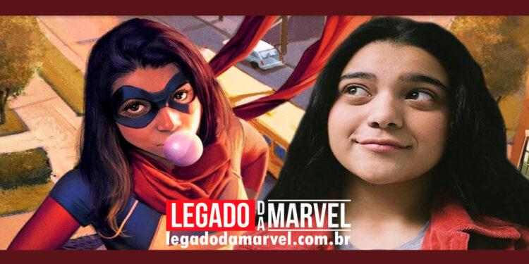 Encerrado as filmagens de Ms. Marvel série Disney+ legadodamarvel