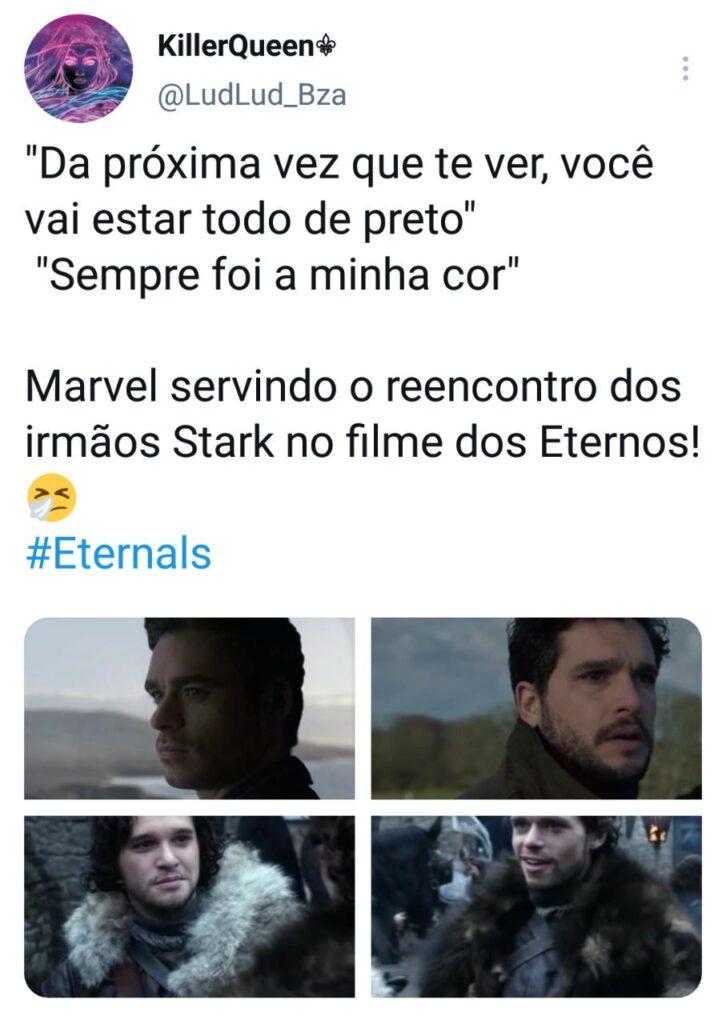 O que fãs da Marvel estão falando sobre o trailer de Eternos legadodamarvel