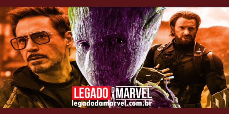 Momento entre Groot e Capitão América mostra sua maior diferença com o Homem de Ferro legadodamarvel