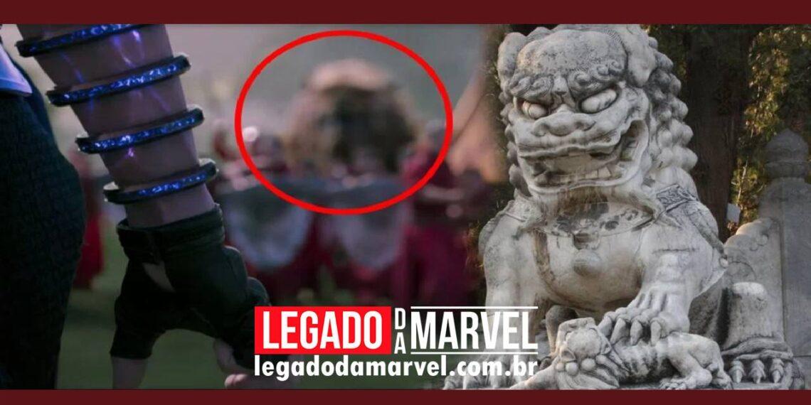 O que são os leões gigantes no trailer de Shang-Chi e a Lenda dos Dez Anéis legadodamarvel