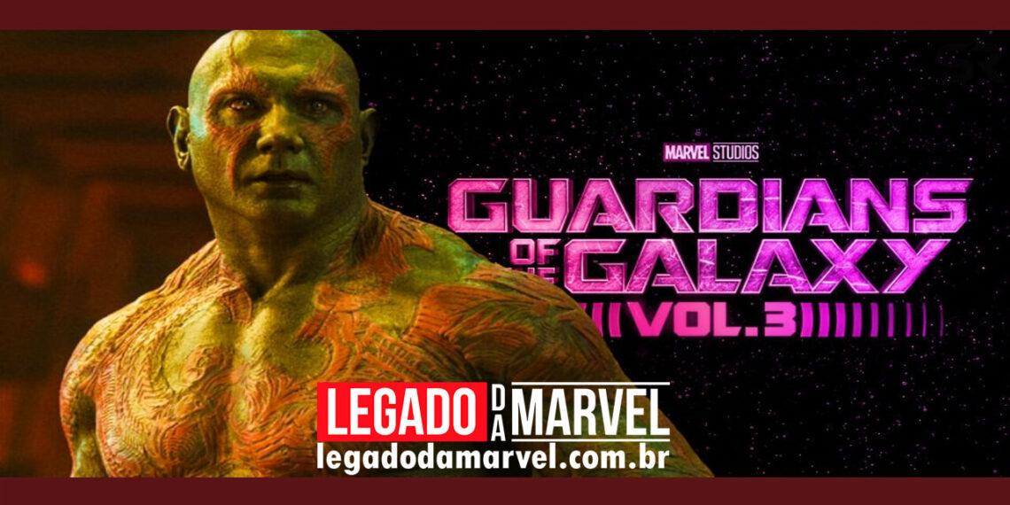 Por que a Marvel não pode reformular Drax após Guardiões da Galáxia 3 legadodamarvel