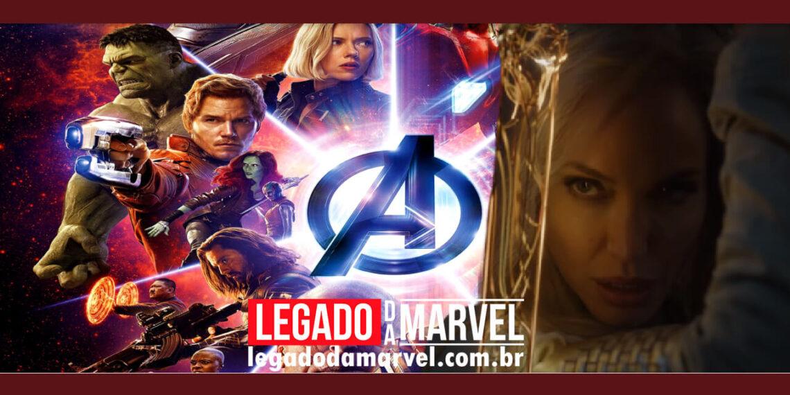 Trailer de Eternos já trouxe um problema chato para a Marvel e os Vingadores legadodamarvel