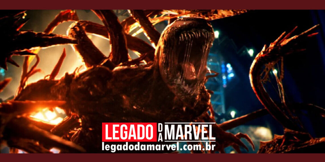 Produto de Venom 2 revelam um novo olhar do Carnificina, vilão do filme legadodamarvel