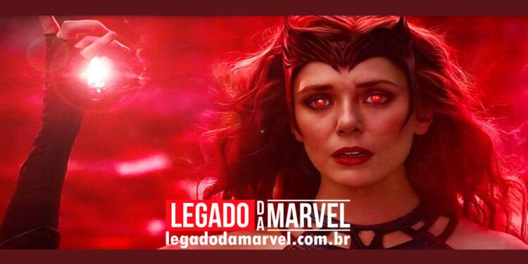 Atriz de Feiticeira Escarlate da Marvel diz que sua personagem possuí incrível super-poder legadodamarvel