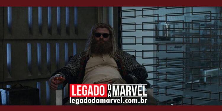 Novas imagens de Thor 4 da Marvel revelam como personagem principal vai perder peso legadodamarvel