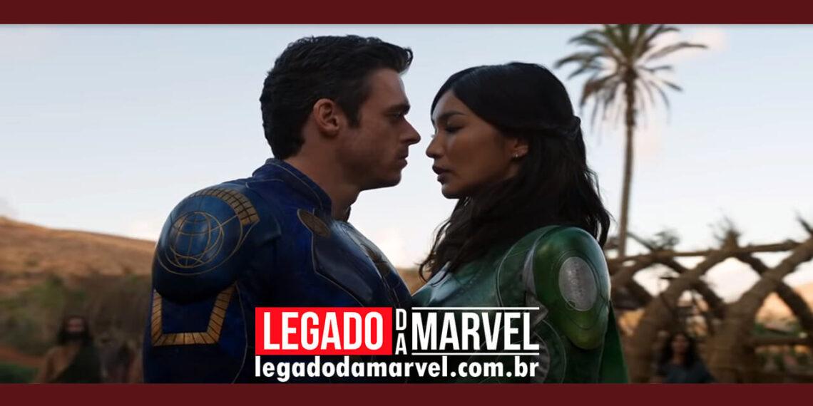Teoria da Marvel diz como vai surgir um triângulo amoroso em Eternos legadodamarvel