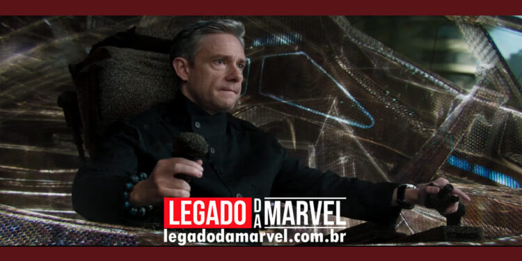 Ator Martin Freeman elogia o roteiro de Pantera Negra 2 legadodamarvel