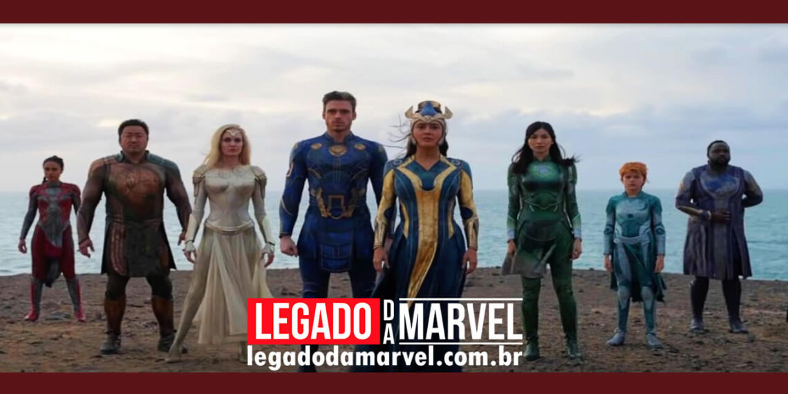 Trailer de Eternos da Marvel quebra recorde visualizações da Disney LEGADODAMARVEL