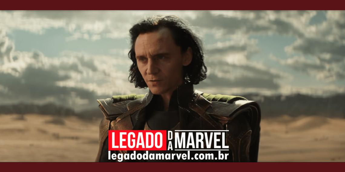 Capa da revista da série Loki da Marvel Studios traz um vilão misterioso legadodamarvel