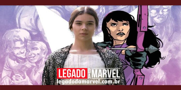Atriz de Gavião Arqueiro da Marvel diz como Kate Bishop atuará na série legadodamarvel
