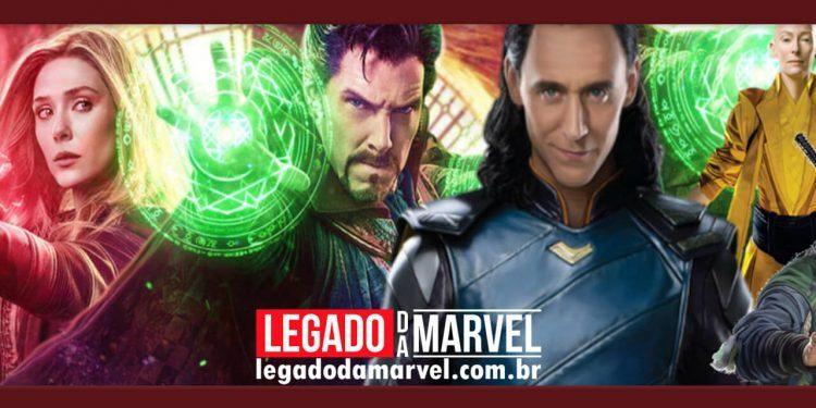 Fã cria surpreendente pôster conectando Loki e Doutor Estranho 2 legadodamarvel