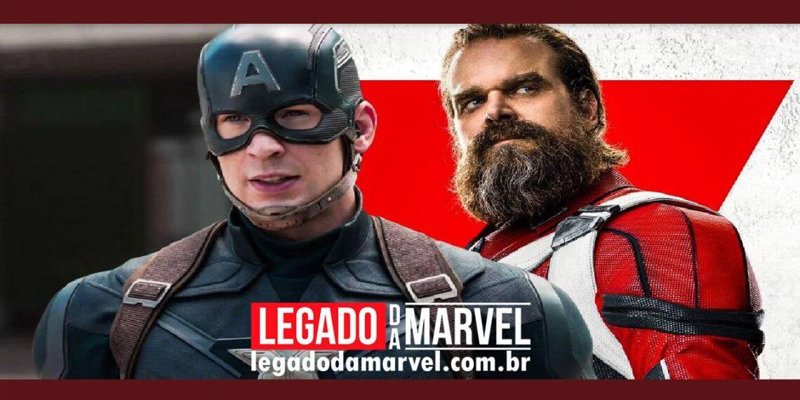 Guardião Vermelho vs Capitão América Quem é super-soldado mais forte legadodamarvel